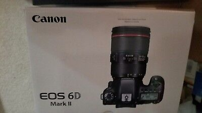 Brand New Canon EOS 6D Mark II Mk 2 Body US Retail  with Full US Canon Warranty