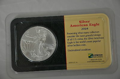 2004 Silver American Eagle 1 oz Silver Dollar BU GEM UNCIRCULATED