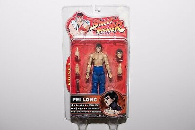 BRAND NEW Street Fighter Round 4 Fei Long Action Figure by SOTA Toys!!!