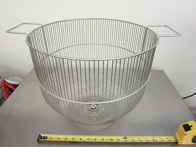 Strainer S.s. Stainless Commercial Food, Pot, 60 Qt Mixer, Steamer! New! Hobart