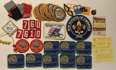 Mixed Lot of Boy Scouts of America vintage patches & more!