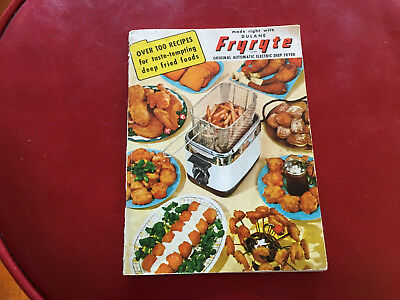 1950 Dulane Fryryte Deep Fryer Use And Care And Recipes