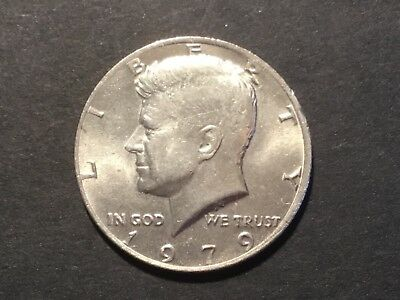"1979 US  ""Kennedy"" half dollar coin."