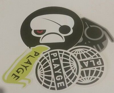 Lot of Playge Vinyl Stickers sqube squadt Jamungo nade bud blow up doll ferg