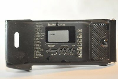 Nikon MF-25 MF 25 back film door for N90s N90 F-90X 35 mm SLR analog camera USED