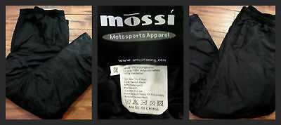 Competition Men's Pants Insulated Heavy Duty Racing Mossi Motorsports 3XL Black
