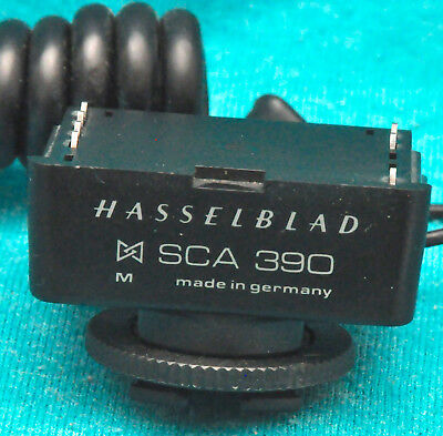 Hasselblad Flash Adapter Unit SCA390 w/ Cords for SCA 300 System #51681