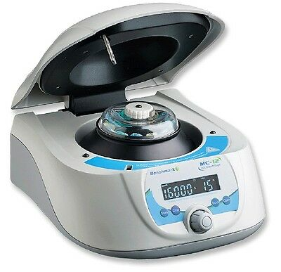 NEW Benchmark Scientific MC-12 High Speed Microcentrifuge with 12 place rotor