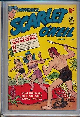 Invisible Scarlet O'Neill (1950) #2 FN+ CGC 6.5
