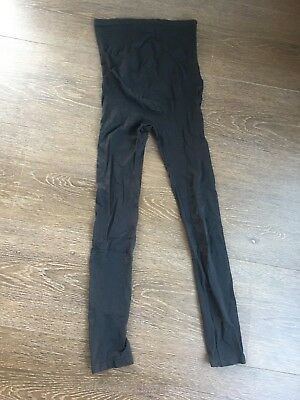 Patch Size Small Black Maternity Tights | As New Condition