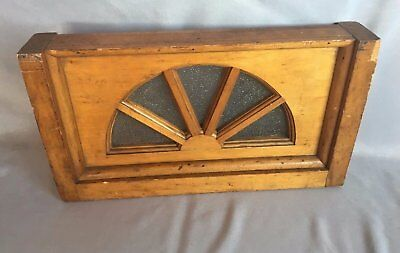 Small Antique 10x17 Arched Dome Top Window Sash Shabby Old Vtg Chic  297-17J