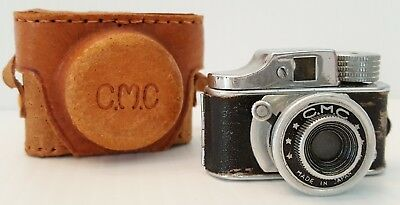 """Vintage Subminiature Mini Spy Camera - """"CMC""""  Made in Japan ~ with Leather Case"""