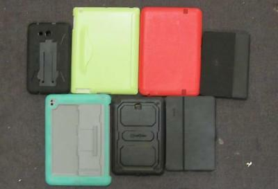Lot Of 7 Assorted Tablet Cases *USED*