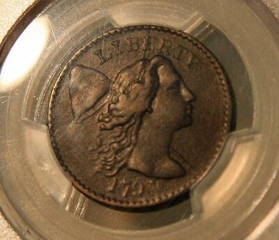 1794 Head of 94 Flowing Hair Cent. PCGS VF 35