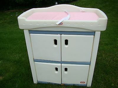 Little Tikes Changing Table Bookshelf Cabinet Toybox Storage Pad Dresser P U Il