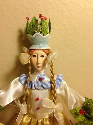 Rare Patience Brewster Krinkles Retired Deck The Halls Figure Dept 56