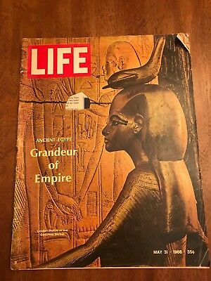 Life Magazine, May 31, 1968, Ancient Egypt/sexual revolution college campuses