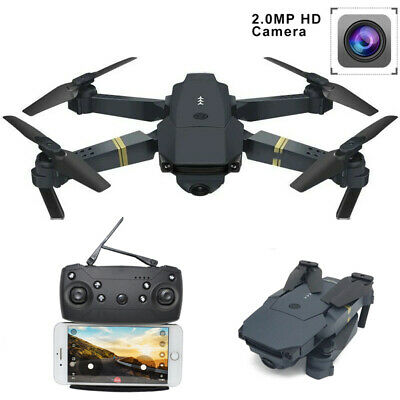 Cooligg Quadcopter Drone S168 2MP 720P HD Selfie Camera WiFi FPV Foldable Arm