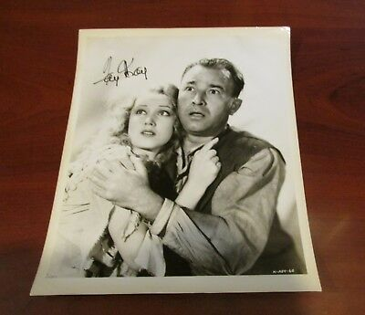 Fay Wray Hand Signed Photo from ''King Kong''