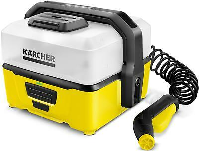 Karcher OC3 Outdoor Washing 5 Bar Pressure Battery Powered Portable Cleaner