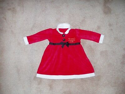 Mrs Christmas dress girls clothes outfit new size 9-12 months Kids childrens
