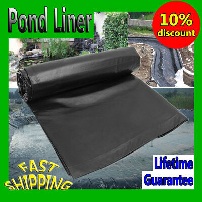 DURABLE FISH POND Liner Gardens Pools HDPE Membrane Reinforced Landscaping