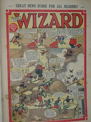 THE WIZARD COMIC......VINTAGE ISSUE........5th October 1940..