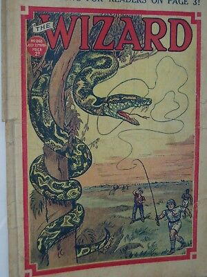THE WIZARD COMIC......VINTAGE ISSUE.........22nd July 1939..