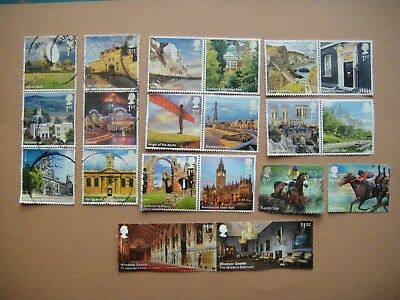 Great Britain. 20 used stamps. No 5