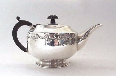 Early A E Jones Teapot Solid Sterling Silver Fine Arts & Crafts 1919