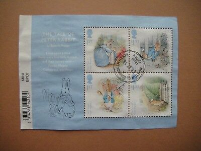Great Britain 2016. Beatrix Potter. Mini-sheet used.