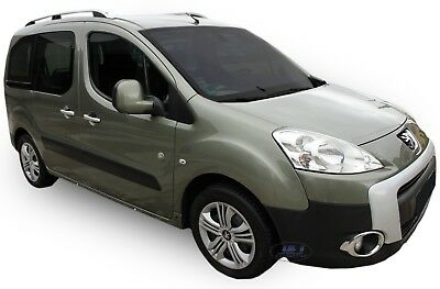 PEUGEOT PARTNER on 2008 SWB STYLISH ALUMINIUM ROOF RAIL BARS RACKS