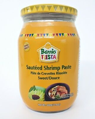 Barrio Fiesta Sautéed Shrimp Paste Sweet