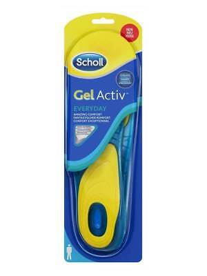 Dr. Scholl Gel Activ everyday Solette uomo (42-48) Assorbi Urti quotidiane OK