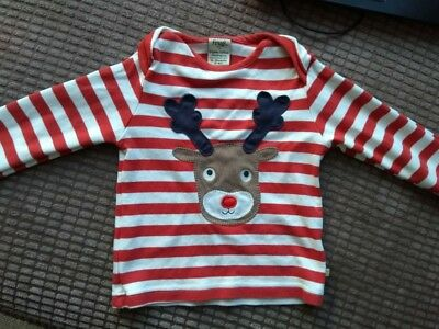 Frugi Christmas Top Age 2