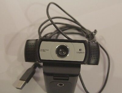 Logitech C930E Webcam Carl Zeiss Tessar HD1080p