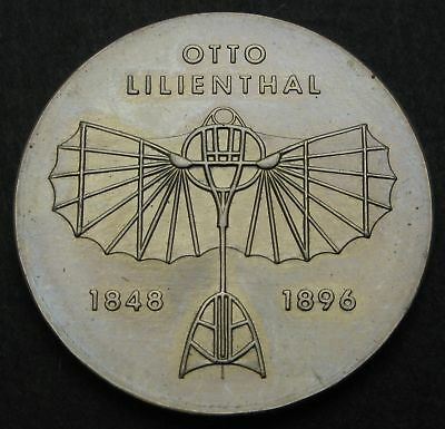 GERMANY (DDR) 5 Mark 1973 - Copper/Nickel - Otto Lilienthal - aUNC - 244