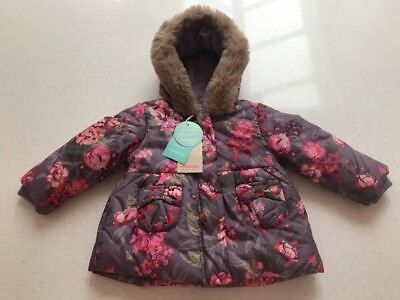 New With Tags Monsoon Baby Girl Shower Resistance Jacket Age 12-18 Months
