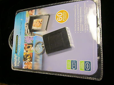 Shift Usb 2.0 Rechargeable Digital Photo Album With Keychain,new