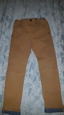 Boys Next Trousers Chinos 5-6 years
