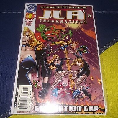 JLA Incarnations #1 First Issue Justice League of America Black Canary DC Comics