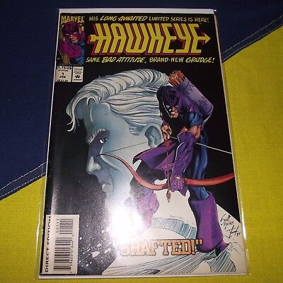 Hawkeye #1 First Issue Marvel Comics - The Avengers Assemble Civil War Infinity