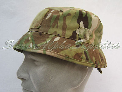 New Templar Assault Systems Crye Multicam Sf Bush Hat,female Loop Patch Panels