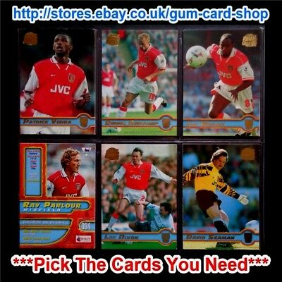 Merlin Premier Gold 98 Football Cards (1 To 99) *Please Choose Cards*