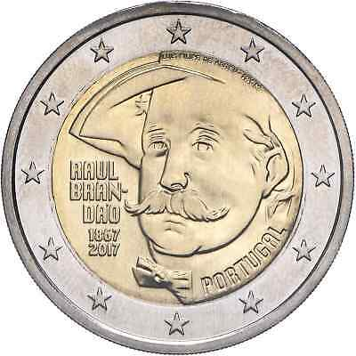 2 Euro commemorative 2017 Portugal - Raul Brandao