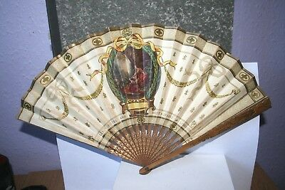 Vintage Carlton Hotel and Restaurant London Paper FAN Rare