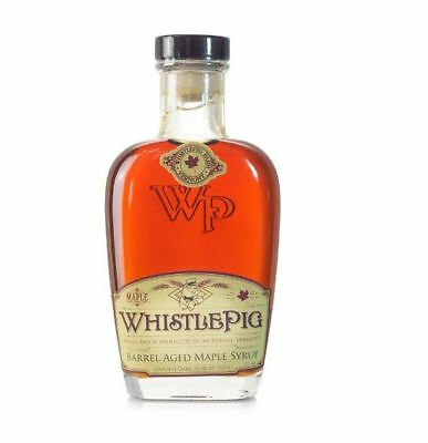 Whistle Pig Bourbon Barrel Aged Maple Syrup!  NEW and sealed