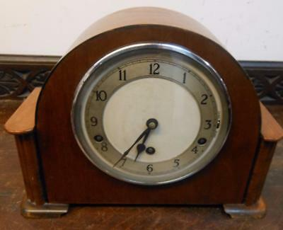 westminster chimes mantel clock by garrard