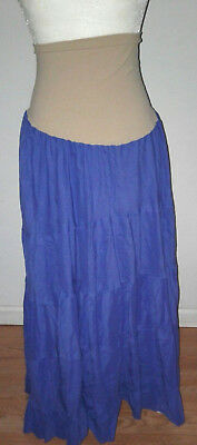 Motherhood Maternity Maxi Skirt women's Size XL Peasant / ILined