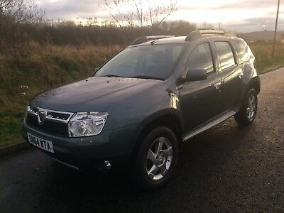 2014 (64 Reg) DACIA DUSTER 1.5 DCi Laureate 4x4, only 21,000 miles from new